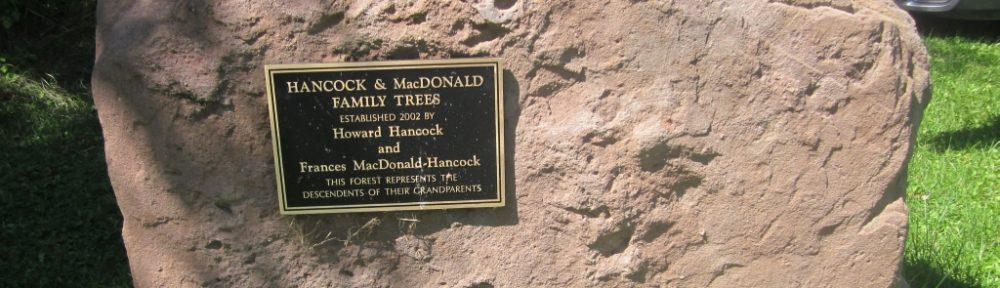 Hancock-MacDonald Forest